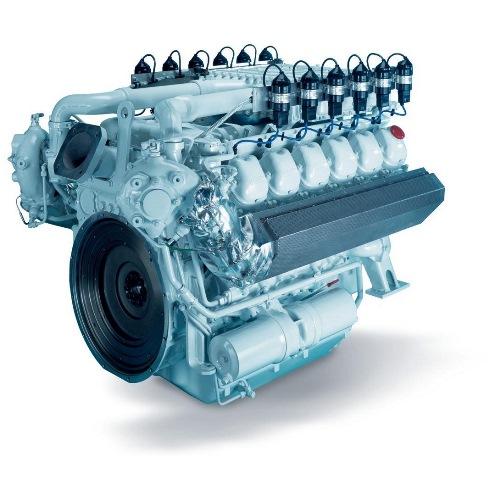 Газопоршневой двигатель MAN E2842 LE322