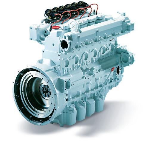 MAN E0836 LE202 Газовый двигатель