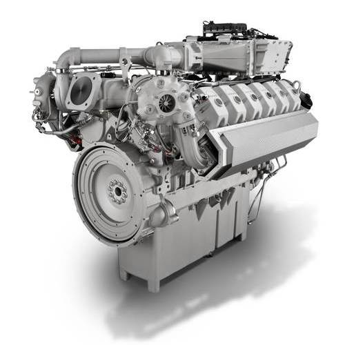 MAN E3262 LE202 газопоршневой двигатель