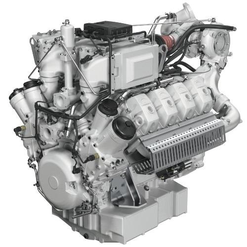 MAN E3268 LE212 Газовый двигатель
