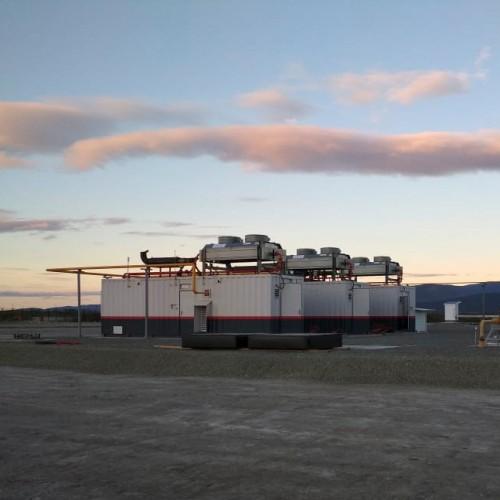 Газопоршневая электростанция ТЕХ 1590