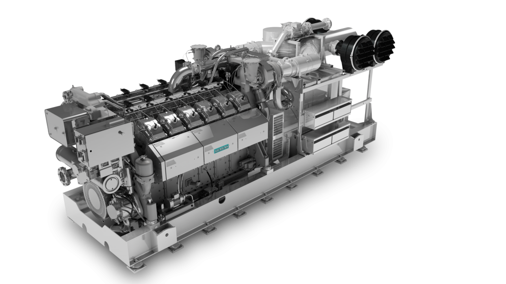 Газопоршневая электростанция ТЕХ 2000 S