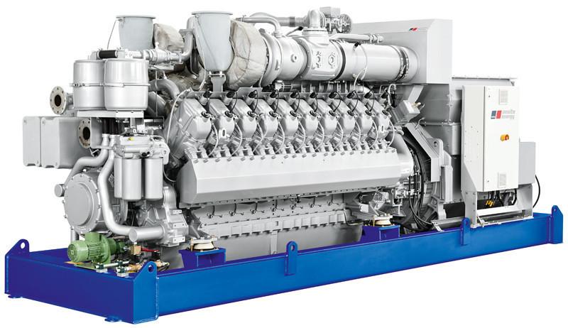 газопоршневая электростанция ТЕХ 1500 U